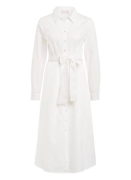 Mrs & HUGS Hemdblusenkleid aus Lochspitze , Farbe: WEISS (Bild 1)