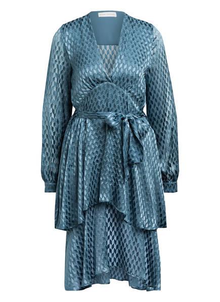 MYKKE HOFMANN Kleid KANSAS mit Seidenanteil, Farbe: PETROL (Bild 1)