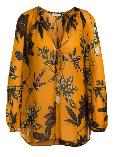 DOROTHEE SCHUMACHER Blusenshirt, Farbe: DUNKELGELB/ OLIV/ SCHWARZ (Bild 1)