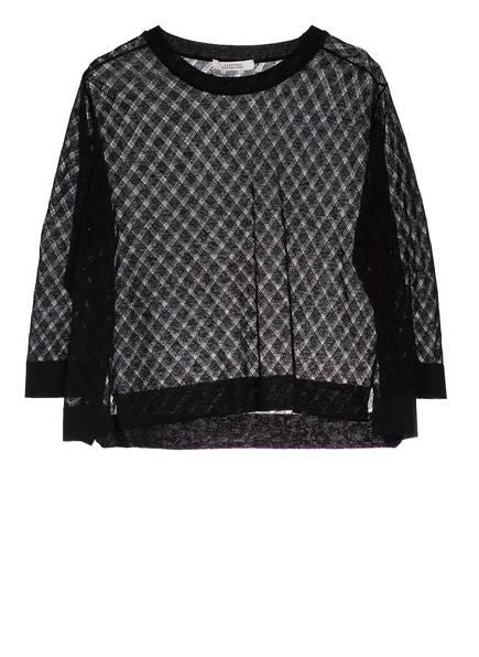 DOROTHEE SCHUMACHER Pullover mit 3/4-Arm, Farbe: SCHWARZ (Bild 1)