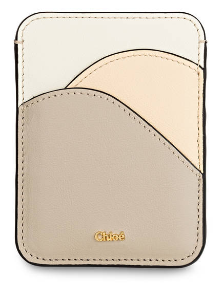 Chloé Kartenetui WALDEN, Farbe: PASTEL GREY (Bild 1)