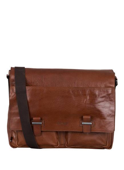 strellson Laptop-Tasche SUTTON, Farbe: COGNAC (Bild 1)