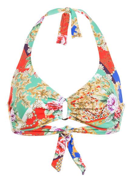 CYELL Neckholder-Bikini-Top DOLCE VITA , Farbe: MINT/ HELLROT/ BEIGE (Bild 1)