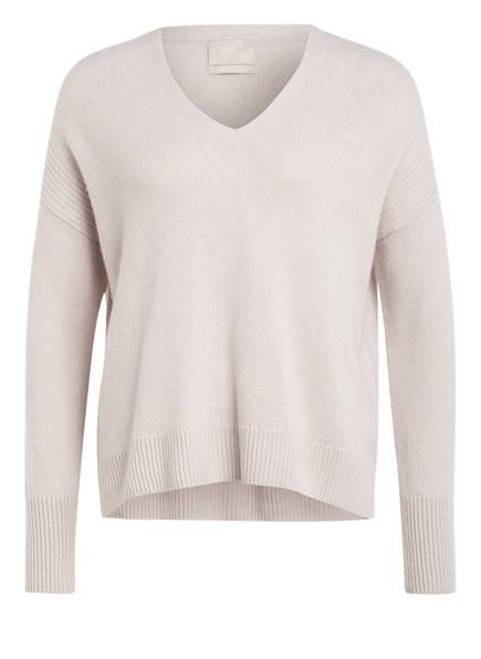 Mrs & HUGS Cashmere-Pullover, Farbe: CREME (Bild 1)