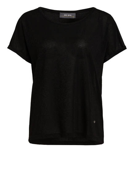 MOS MOSH T-Shirt KAY mit Glitzergarn, Farbe: SCHWARZ (Bild 1)