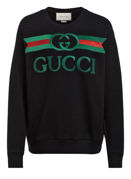 GUCCI Sweatshirt, Farbe: SCHWARZ (Bild 1)