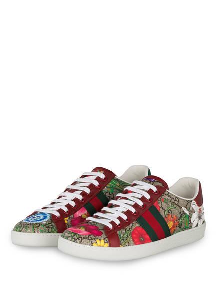 GUCCI Sneaker ACE GG FLORA , Farbe: BE.EBO.M/ROS/VRV/R.F (Bild 1)