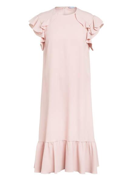 RED VALENTINO Kleid mit Volontbesatz, Farbe: ROSE (Bild 1)