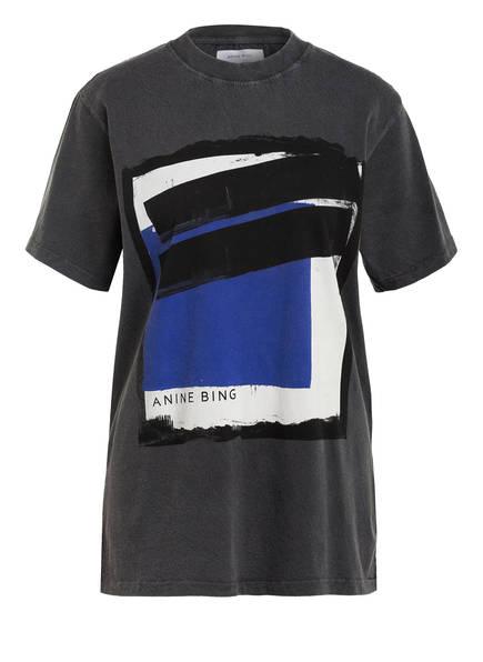 ANINE BING T-Shirt GEORGIE , Farbe: DUNKELGRAU (Bild 1)
