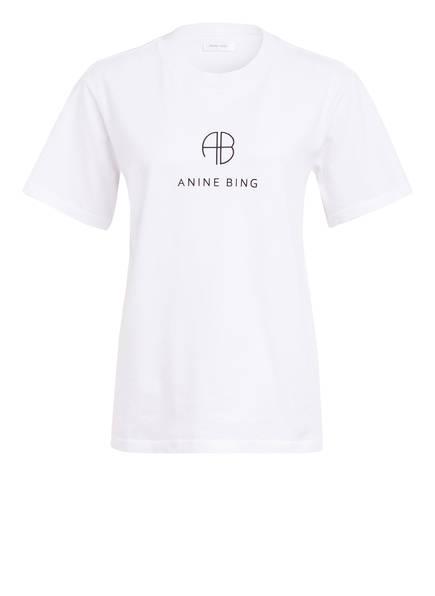 ANINE BING T-Shirt HUDSON , Farbe: WEISS (Bild 1)