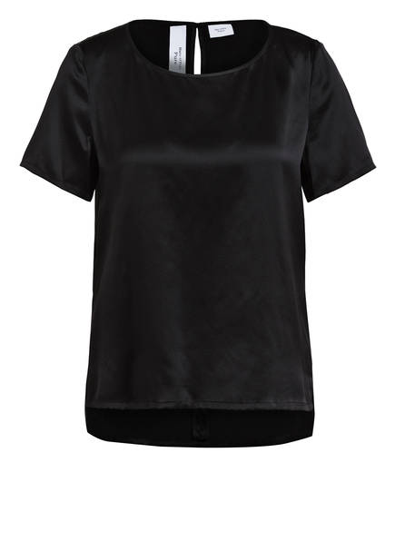 Marc O'Polo Pure Blusenshirt aus Seide, Farbe: SCHWARZ (Bild 1)