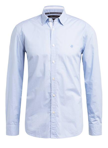 Marc O'Polo Hemd Regular Fit, Farbe: HELLBLAU/GESTREIFT (Bild 1)