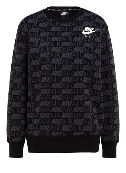NIKE Hoodies & Sweat | Nike Sweatshirt Air grau