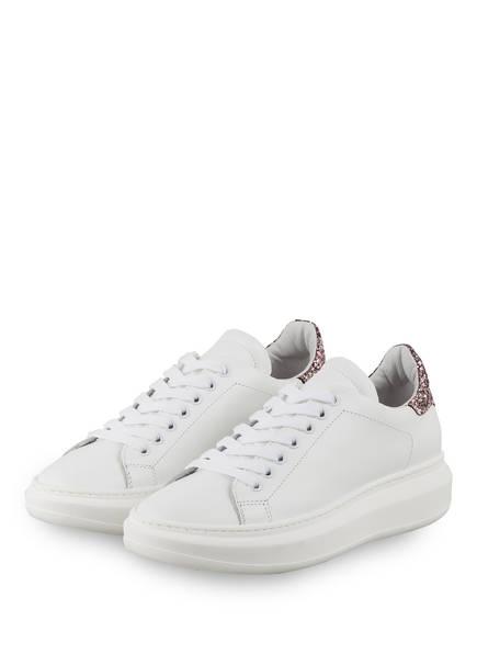 MÉLINÉ Sneaker , Farbe: WEISS/ HELLROSA (Bild 1)