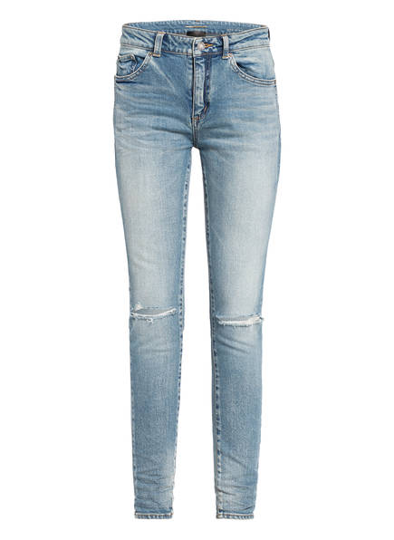 SAINT LAURENT Destroyed Jeans , Farbe: HELLBLAU (Bild 1)
