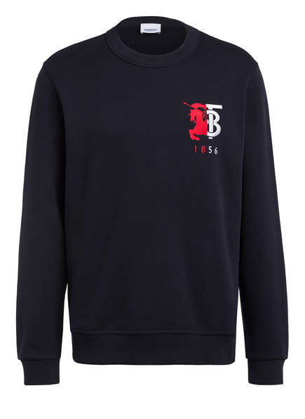 BURBERRY Sweatshirt MUNSTONE, Farbe: DUNKELBLAU (Bild 1)