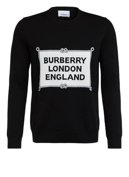 BURBERRY Pullover, Farbe: SCHWARZ/ WEISS (Bild 1)
