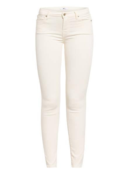 7 for all mankind Skinny Jeans THE SKINNY, Farbe: colored Slim Illusion Bone (Bild 1)