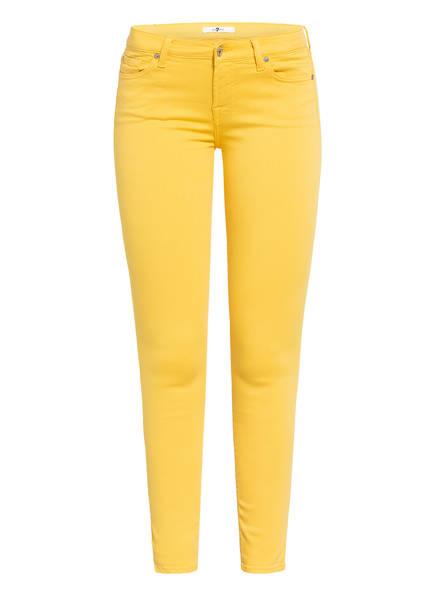 7 for all mankind Skinny Jeans THE SKINNY, Farbe: GELB (Bild 1)