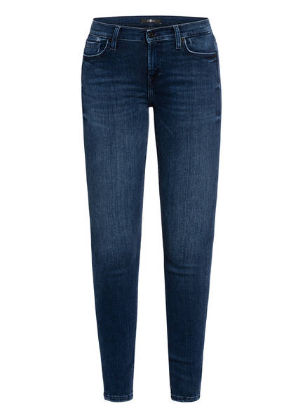7 for all mankind Skinny Jeans THE SKINNY, Farbe: SLIM ILLUSION INTEGRITY DARK BLUE (Bild 1)