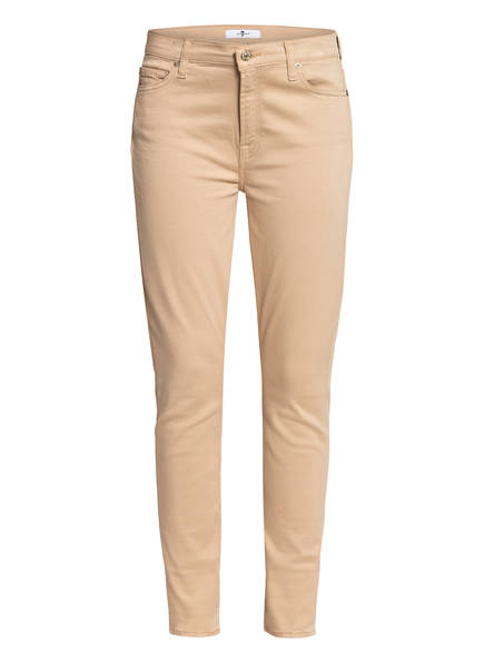 7 for all mankind Skinny Jeans , Farbe: BEIGE (Bild 1)