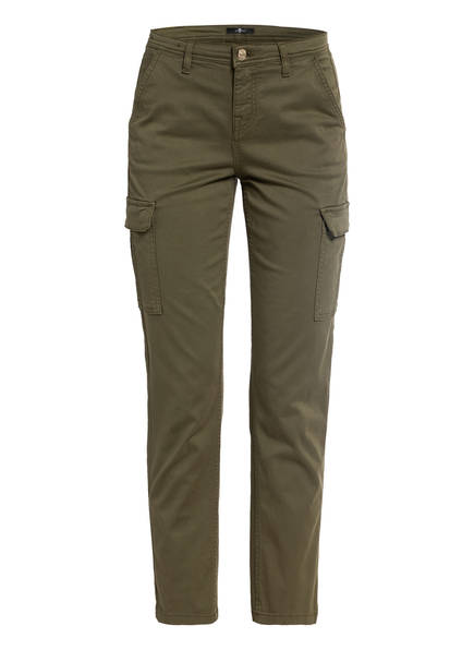 7 for all mankind 7/8-Cargohose , Farbe: KHAKI (Bild 1)