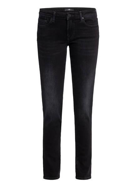 7 for all mankind Skinny Jeans PYPER , Farbe: SLIM ILLUSION UNIVERSE BLACK (Bild 1)