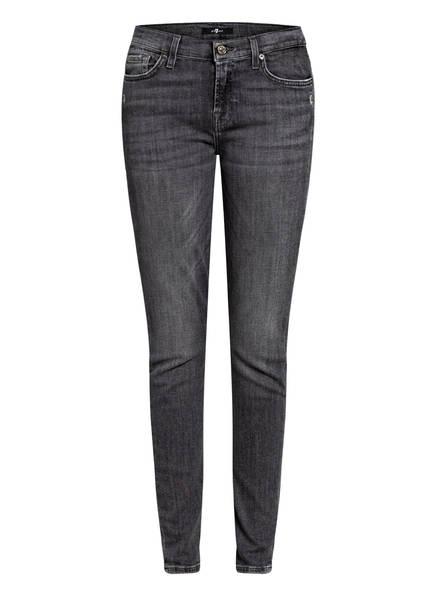 7 for all mankind Skinny Jeans THE SKINNY, Farbe: SLIM ILLUSION SHADOWLAND GREY  (Bild 1)