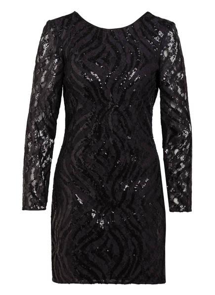 CLAUDIE PIERLOT Kleid RUBAN mit Paillettenbesatz , Farbe: SCHWARZ (Bild 1)