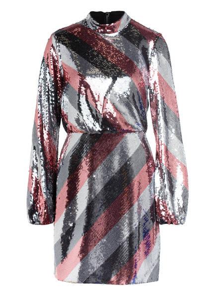 TED BAKER Kleid JOCASTA mit Paillettenbesatz, Farbe: SILBER/ SCHWARZ/ ROSE (Bild 1)