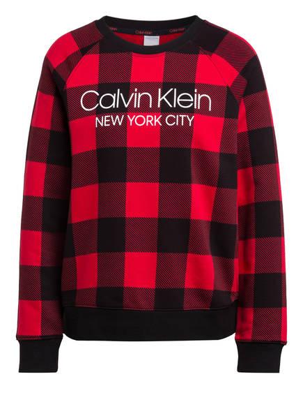 Calvin Klein Lounge-Shirt , Farbe: SCHWARZ/ ROT (Bild 1)