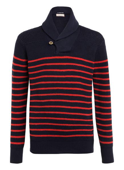 SCOTCH SHRUNK Pullover , Farbe: DUNKELBLAU/ ROT (Bild 1)