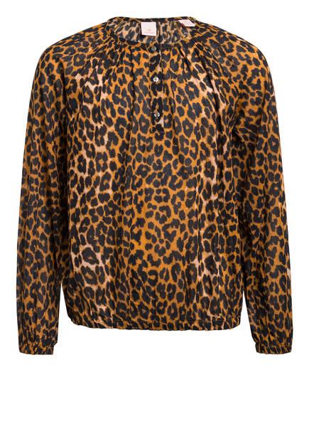 SCOTCH R'BELLE Blusenshirt, Farbe: SCHWARZ/ DUNKELORANGE (Bild 1)