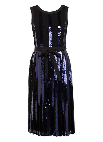 Phase Eight Kleid ALANI mit Paillettenbesatz , Farbe: SCHWARZ/ DUNKELBLAU (Bild 1)