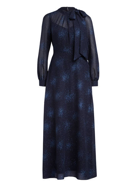 Phase Eight Abendkleid MELINA mit Schluppe, Farbe: DUNKELBLAU (Bild 1)