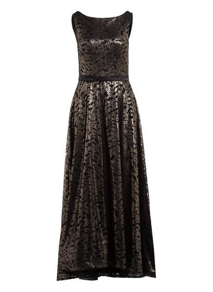 Vera Mont Abendkleid , Farbe: SCHWARZ/ GOLD (Bild 1)