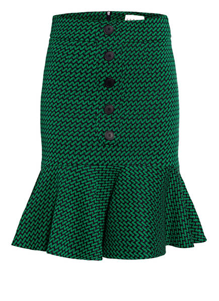 damsel in a dress Tweed-Rock SABRI, Farbe: GRÜN/ SCHWARZ (Bild 1)
