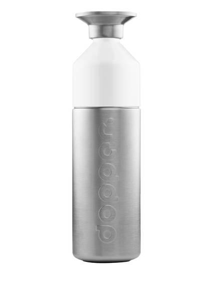 dopper Trinkflasche DOPPER STEEL, Farbe: GRAU/ WEISS (Bild 1)