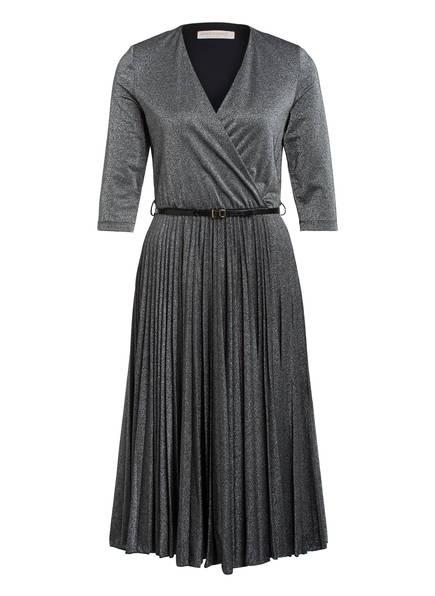RINASCIMENTO Kleid mit 3/4-Arm , Farbe: SCHWARZ/ SILBER (Bild 1)