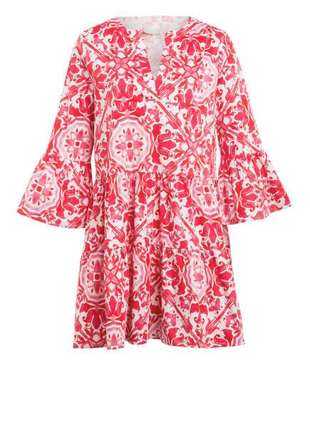 Mrs & HUGS Kleid mit 3/4-Arm, Farbe: ROT/ WEISS (Bild 1)
