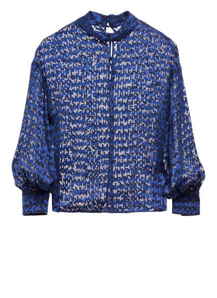 REISS Blusenshirt TILLY mit Seide, Farbe: BLAU (Bild 1)