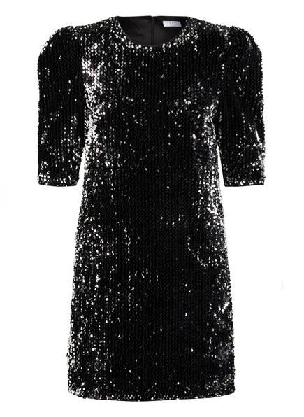 CLAUDIE PIERLOT Kleid ROCHEH mit Paillettenbesatz, Farbe: SCHWARZ (Bild 1)