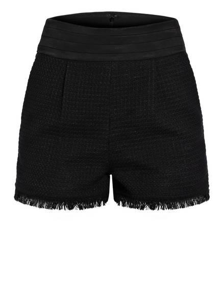 CLAUDIE PIERLOT Shorts ESTER mit Glitzergarn, Farbe: SCHWARZ (Bild 1)