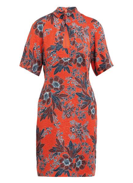 damsel in a dress Kleid CARYL, Farbe: ORANGE/ PETROL/ BRAUN (Bild 1)