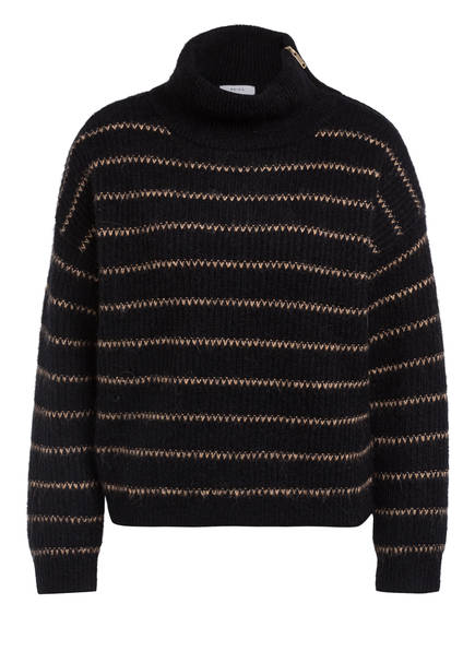 REISS Pullover CAMMIE , Farbe: SCHWARZ/ CAMEL (Bild 1)