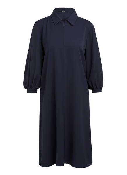 someday Kleid QEDRIK mit 3/4-Arm, Farbe: DUNKELBLAU (Bild 1)