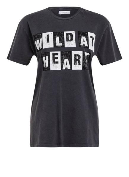ANINE BING T-Shirt WILD HEART, Farbe: GRAU (Bild 1)