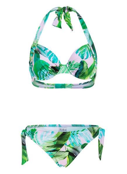 Lidea Bügel-Bikini BEACH GARDENING , Farbe: GRÜN/ ROSE (Bild 1)