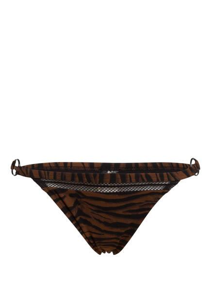 watercult Bikini-Hose ANIMAL ASSET, Farbe: BRAUN/ SCHWARZ (Bild 1)