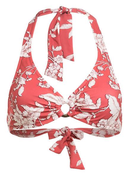 watercult Neckholder-Bikini-Top SUMMER RENAISSANCE , Farbe: ROT/ WEISS (Bild 1)